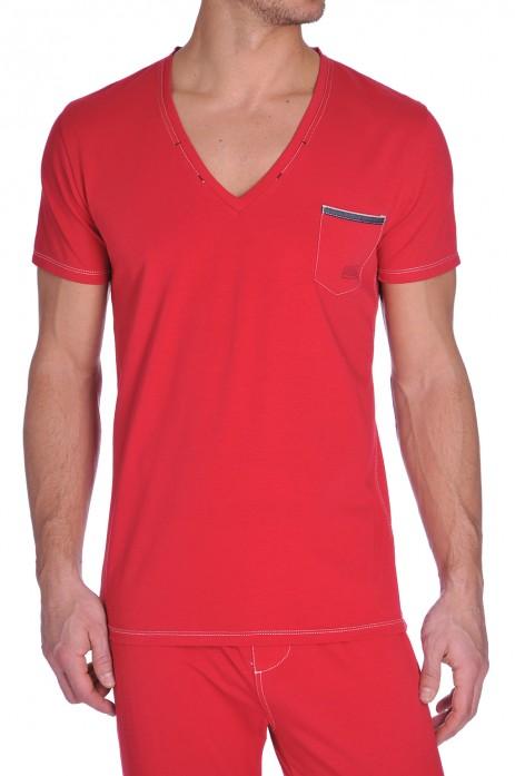 Diesel V-Shirt Jesse Rood