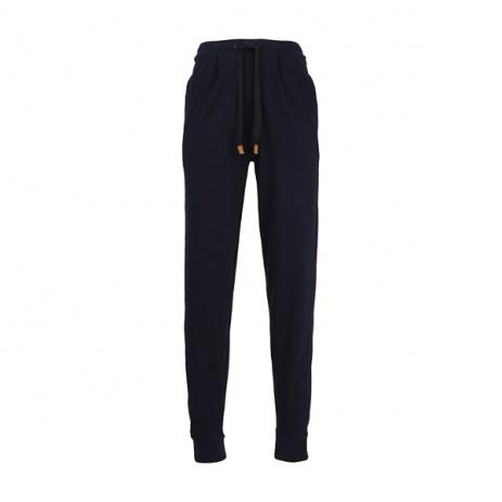 Baldessarini Pure Cotton Trousers Antraciet Melange