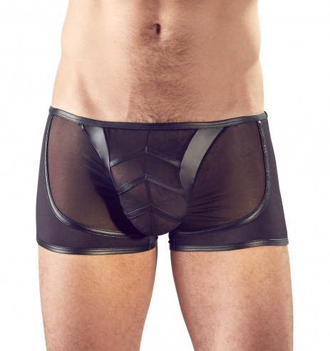 Sexy Heren Boxer - Transparant voor