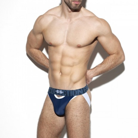 ES Collection Double Opning Mesh Jock - Royal Blue