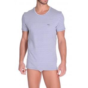 Diesel V-Shirt Michael Aqua-Blauw