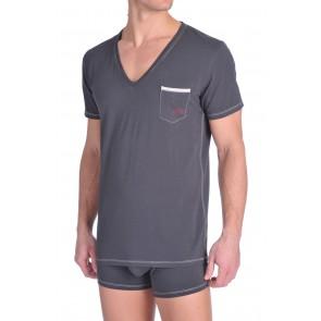 Diesel V-Shirt Jesse Turquoise