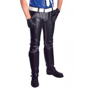 Mister B FXXXer-Jeans Black-White