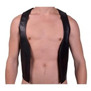 Mister B Muscle Vest Zwart