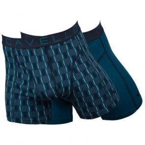 Cavello Stipt 2 Pack Boxershorts - Groen / Streep