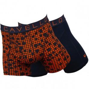 Cavello Oranje Onder 2 Pack Boxershorts - Print / Oranje