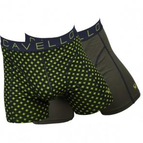 Cavello Nachtzicht 2 Pack Boxershorts - Print / Khaki