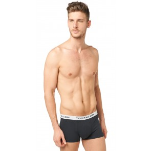 Tom Tailor Boxershort 3 pack Antra-Melan-Black