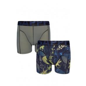Sapph 2-Pack Boxershorts Microvezel - Forest / Nightcrawler Print