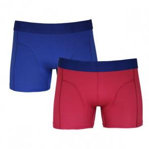 Sapph Vince Micro Boxer 2 Pack - Blauw / Fuchsia - duo verpakking