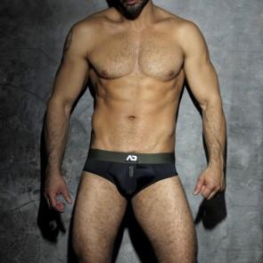 Addicted Fetish ADF17 Camo Stripe Bottomless Boxer