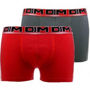 DIM 3D Flex Dynamic Boxershort 2 Pack Rood