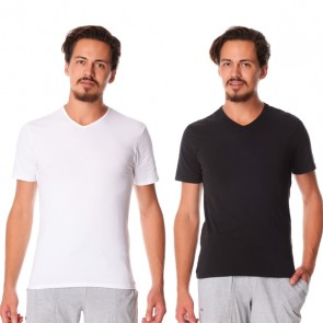 Dim 2-Pack T-Shirts V-Hals