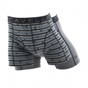 Cavello 2 Pack Boxershorts - Muis Print / Grijs