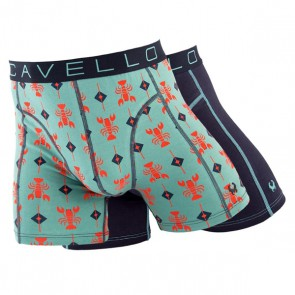 Cavello 2 Pack Boxershorts - Kreeft
