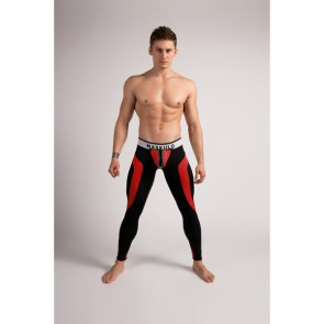 Maskulo Youngero Men's Fetish Leggings - Rood