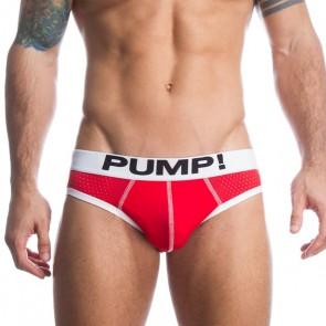 Pump Micromesh Red Slip