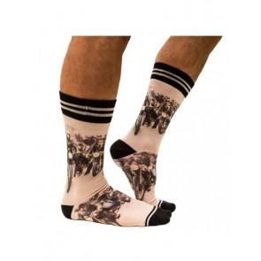 Sock My Bikers - Heren Sokken zijkant