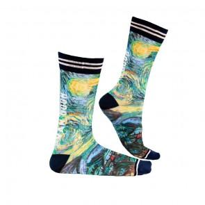 Sock My van Gogh - Heren Sokken zijkant