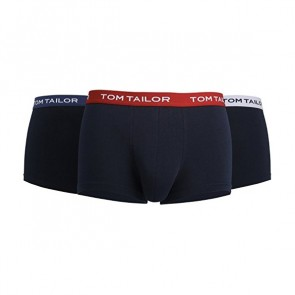 Tom Tailor Boxershort 3 Pack Black-Red-Grey